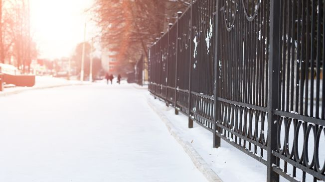 Safe walking in winter for older people