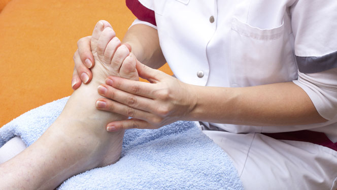 Banishing the fear of falling with reflexology