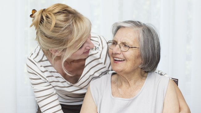 Experiences in caring for a mum with dementia