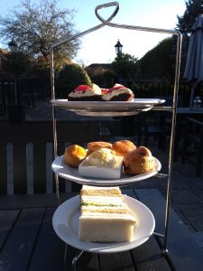 Mother's Day tea at the Talbot Inn