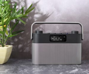 DAB radio for visually impaired