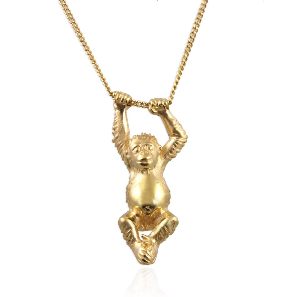 save the orangutan Mother's Day gift jewellery