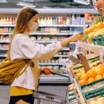 supermarket shopping in self-distancing world