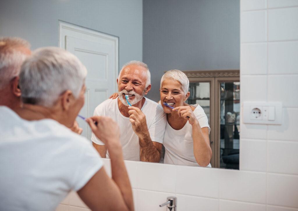 Oral hygiene as you age