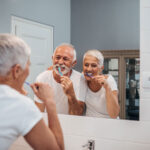 Oral hygiene as you age