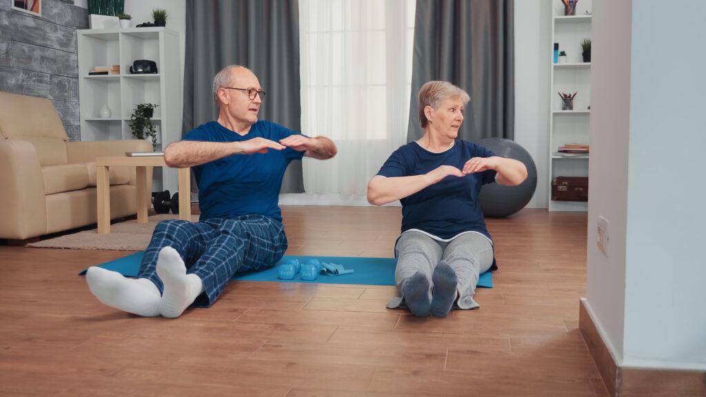 preventing falls through exercise